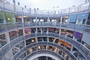 Reitangruppens nye hovedkontor er et dynamisk og aktivt hus, der de ansatte stortrives.