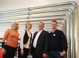 Geberit begynte i Sveits i 1874, og utvikler rørsystemer og sanitærsystemer.
