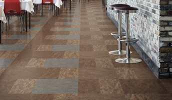 Med Marmoleum Modular kan du skape et levende gulv