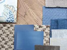 <b>MATERIALER OG FARGER:</b> Farger er en god start, veien videre til ønsket stil og atmosfære skapes med materialer, tekstur og mønster. (Foto: Bjørg Owren/ifi.no)