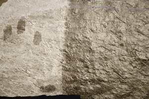 Med oljing kan en forandre steinens uttrykk bestandig og nye muligheter åpnes. Kunstverk, finger- hånd-, eller fotavtrykk, poesi eller andre mønstre er også enkle å få til.