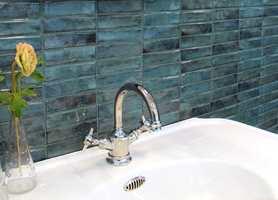 <b>MOSAIKK:</b> Små fliser festet til nett til større enheter er blir kalt for mosaikk. Denne serien heter «Vintage», og mosaikkmodellen blir kalt «Azul».