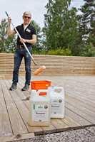 <b>LANGTIDSHOLDBART: </b>Sioo:x silisiumbehandling er utviklet i Sverige, der det har vist gode resultater over lang tid. Odd Einar Reseland er salgs- og produktsjef for produktet i Norge. (Foto: Chera Westman/ifi.no)