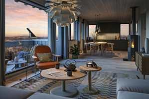 ET ANDRE HJEM: Nordmenn bruker mange penger på å få hytten til å se ut som et hjem.
