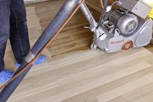 Med riktig utstyr støver gulvsliping ingenting.