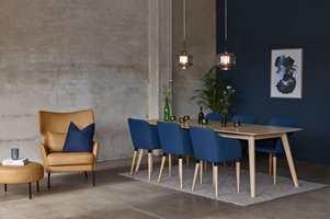 <b>LUFTIG MODERNE:</b> Farger, materialer og former i dette interiøret fra Bohus har en luftig, moderne og litt minimalistisk stil. (Foto: Ragnar Hartvig/Bohus)