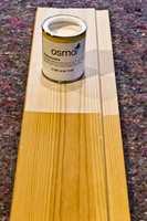 <b>3186 SNØ MATT: </b>For at den transparente behandlingen skal lysne gammelt, skikkelig gulnet panel, kan det kreves en behandling med mye hvite pigmenter som har en godt lysnende effekt.