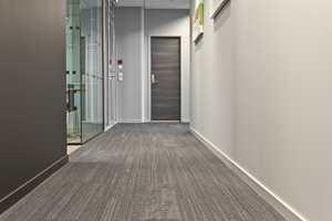 <b>HJELP: </b>Ved utformingen av teppegulvet hadde interiørarkitekten god hjelp av designverktøyet Interface Consept Design, som er en tjeneste der teppeleverandøren visualiserer arkitektens plan i skisser og illustrasjoner.
