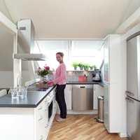 Kjøkkenet etter...