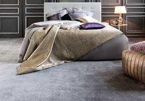 Et teppegulv er luksus for bare bein.  Foto: Golvabia