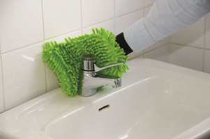 Hansken kan anvendes i baderommet til kraner og sanitærporselen.