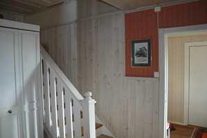 Trappegangen før – flere, urolige overflater ga et noe bråkete inntrykk.