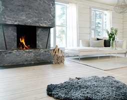 Hytter går ofte i generasjoner, så det er viktig med et gulv som varer, slik som furugulv.