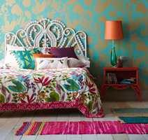 Oransje var årets farge i fjor. Fargen kan brukes på små elementer for gi rommet et ekstra «fargekick».