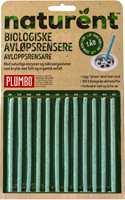 <b>AVLØPSÅPNER:</b> Pinnene med avløpsåpner stikkes ned i avløpet for å forhindre vond lukt og tette rør.