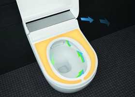<b>LUKT:</b> Med luktavsug i toalettet slipper du vond lukt på badet.