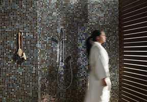 Et luksuriøst bad er et rent bad.