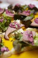 Kokkene fra SULT hadde latt seg inspirere av årets farge.
