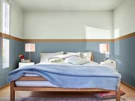 <b>CARE:</b> Dette er paletten for deg som trives i en frisk og mild atmosfære. I dette soverommet våkner du til en herlig vårmorgen året rundt.