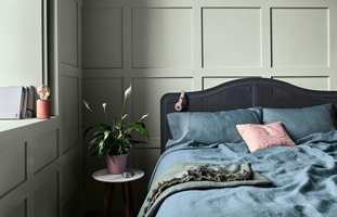 Tranquil Dawn, en dus grønnfarge inspirert av stemningen ved tidlig morgengry, er valgt til Årets Farge 2020 av Nordsjös fargespesialister.