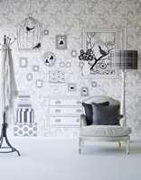 Astex og Eijffingers kolleksjon Black & White har en moderne vri på det klassiske mønsteret.