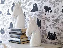 Eijffingers Black & white-kolleksjon har her enda en moderne vri.