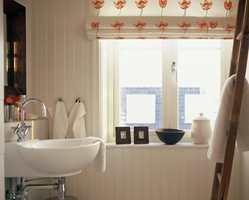 Badet i en varmere og mer romantisk stil.