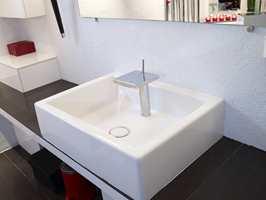 Ren betong tåler fint fukt og er også et alternativ på badet.