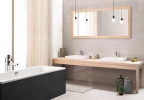 <b>BADEDRØM:</b> Gode løsninger gjør drømmebadet enda bedre. (Foto: Golvabia)