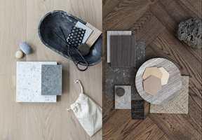 <b>TRENDER:</b> Enten du velger lyse eller mørke gulv, finnes trendy varianter med god miljøprofil.