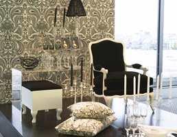 Barokk-inspirert svart-hvitt