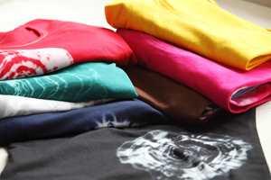 <b>FARGERIKT:</b> Nitor All in One finnes i elleve ulike farger. Bruk én pakke til 200 gram tekstil for full effekt, eller få lysere farger med mer stoff.
