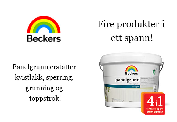 Beckers annons