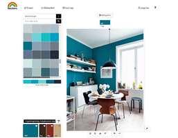 Hos Beckers har de tilpasset egne fargepaletter til ulike rom og stiler. De kommer også med forslag til komplementærfarger, slik at du enklere kan sette sammen farger som passer.