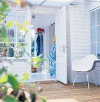 Det er mange fordeler ved en vanntynnbar maling, og i følge eksperten ingen grunn til å velge tradisjonell oljemaling utendørs.