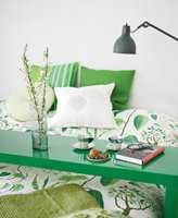 Velg grønt: Grønt er naturens farge  - og en av årets trendfarger.
