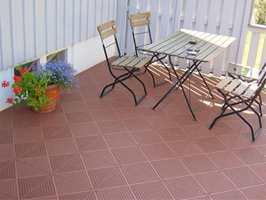 Bergo Flooring på uteplassen