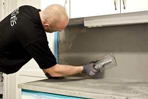 Beton Cire kan brukes for å gi de aller fleste underlag en tøff betonglook.