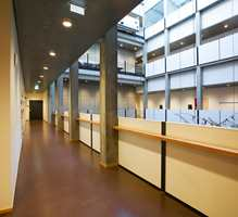 De har komponert sin egen farge i kvaliteten Marmorette 2,5 mm, som er spesialprodusert for konserthuset ved DLW-fabrikken i Delmenhorst.