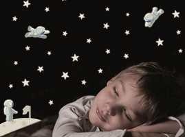 Astronauter og stjerner kommer også som sett.