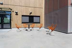 Også installasjoner i uterommene har fått fager som synes - og forhåpentligvis inspirerer.