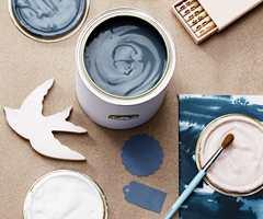 <b>BLÅ TID:</b> Blått er en farge mange har et godt forhold til. Nå vil vi ta de sotede blåfargene hjem. (Foto: Beckers)