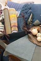 Tekstiler i farger og struktur inspirert av naturen.