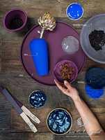<b>INTENS:</b> Fargen Blue er en intens, klar og sterk blåfarge, et frisk pust.