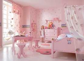 Mange jenter drømmer om et rosa prinsesserom. Kanskje er det biologisk betinget?