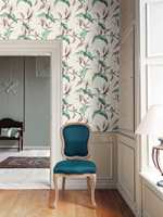Vakre magnoliablomster, opprinnelig håndmalt av prinsesse Sofie Charlotte von Oldenburg