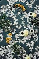 Botanic finnes i åtte ulike farger og designet er inspirert av hagens ville planter og vridde grener med blomster i full blomst med et værbitt preg.