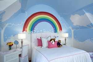 Bare fantasien setter begrensninger! Hva ville poden sagt til et slikt soverom?