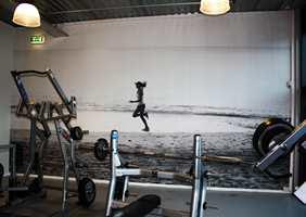 Eller kanskje et bilde der du jogger på stranden kan holde motivasjonen oppe til å trene hele vinteren?