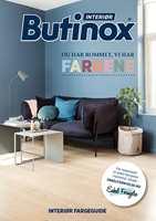Ny brosjyre fra Butinox Interiør med farger, tips og råd til hvordan du kan pusse opp med farger rom for rom.